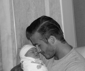 David Beckham, baby, and harper seven image
