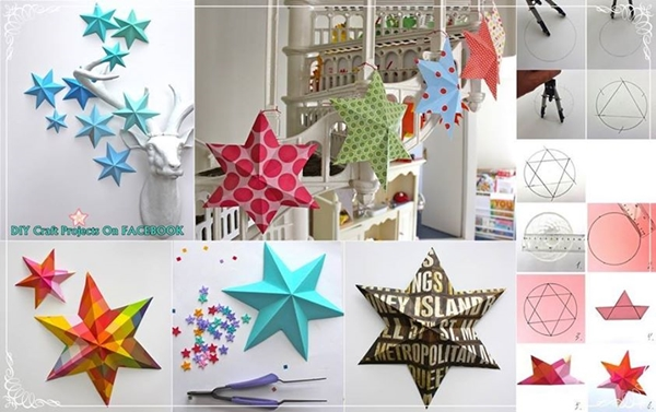 Understandable 3d origami star | Origami stars, Origami lucky star ... | 377x600