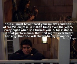 edith piaf, himym, and how i met your mother image