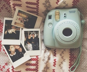 polaroid, camera, and zoella image