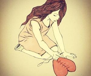 beautiful, broken heart, and heart image