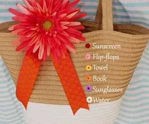 diy, beach bag, and gift ideas image