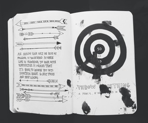 art, drawing, and wreck this journal image