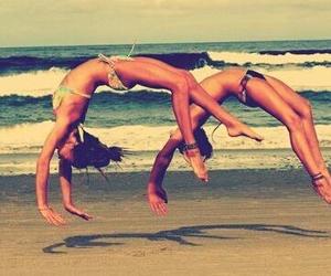 acrobatic, beautiful, and dance image