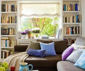 book, architecture, and bookshelf image