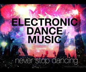 dancing, electronic, and music image