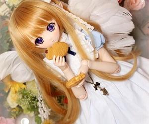 angel, kawaii, and anime doll image