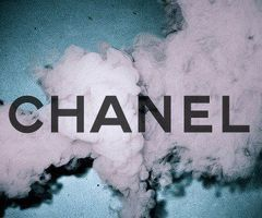chanel, smoke, and grunge image