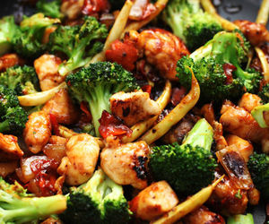 breakfast, dish, and chinese food image