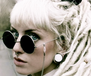 dreads, grunge, and hippie image
