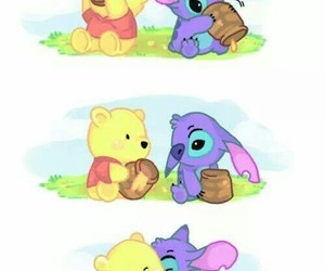 stitch, cute, and disney image