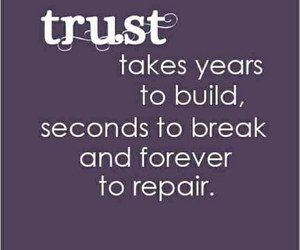 trust, quotes, and forever image