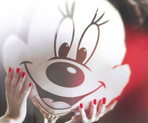 minnie and red image