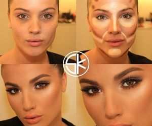 makeup and contouring image
