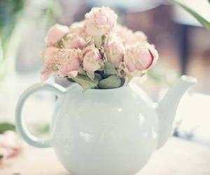 flowers, vintage, and pastel image