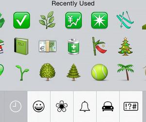 green, emoji, and keyboard image