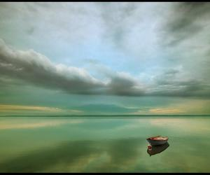boat and lonely image
