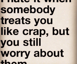 quote, text, and worry image