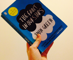book, the fault in our starts, and hazel image