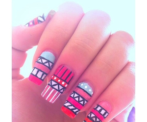 colorful, fun, and nails image