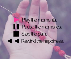 play, memories, and stop image