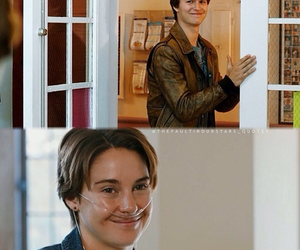 the fault in our stars, love, and augustus waters image