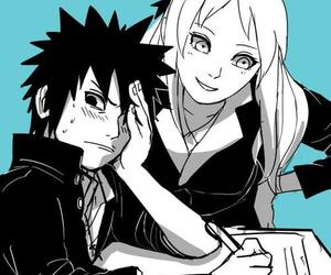 anime, couple, and naruto shippuden image