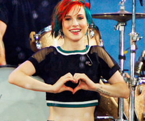 hair, hayley williams, and yelyah image
