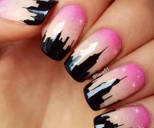 city, summer, and nails image