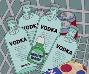 vodka, alcohol, and grunge image