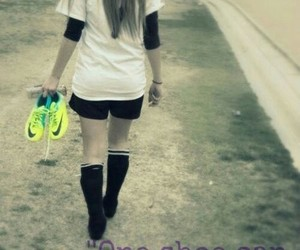 girl, soccer, and quotes image