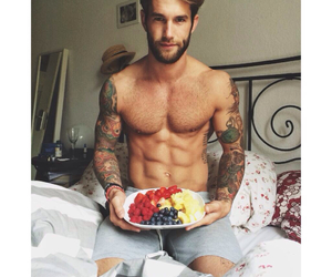 boy, sexy, and breakfast image