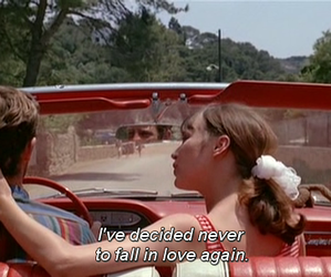 love, car, and film image