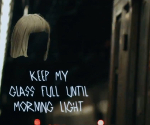 Sia and chandelier image