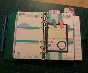 filofax, scrapbooking, and d.i.y. image