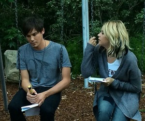 haleb, pll, and caleb image