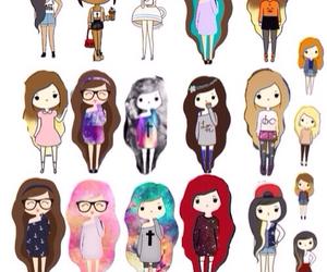 girl and cool image