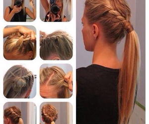 beutiful, braid, and hairstyle image