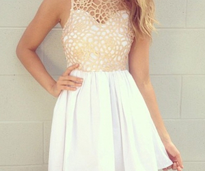 dress, hipster, and summer image