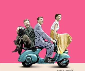 roman holiday, audrey hepburn, and gregory peck image