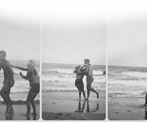 love, boy, and beach image