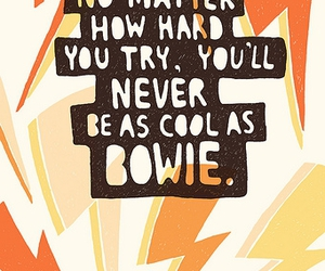 bowie, david bowie, and text image