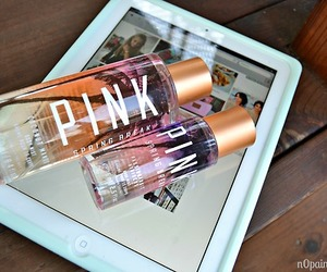 pink, ipad, and Victoria's Secret image