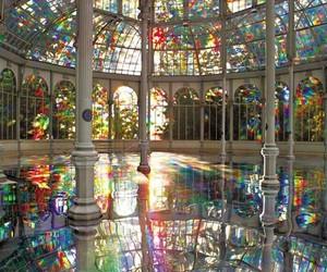 rainbow and madrid image