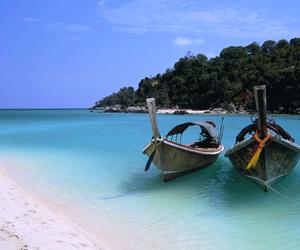 beach, exotic, and luxury image