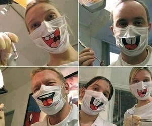 funny, lol, and dentist image