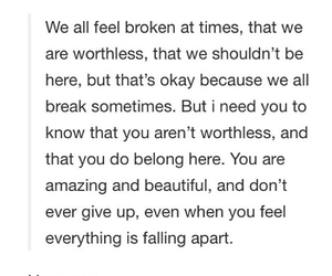 broken, here, and iloveyou image