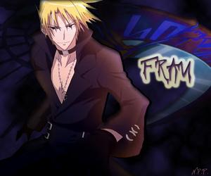 anime, anime boy, and frau image