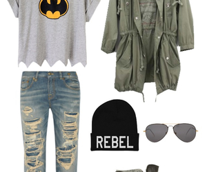 batman, clothes, and clothing image