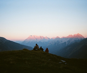 indie, nature, and sunrise image